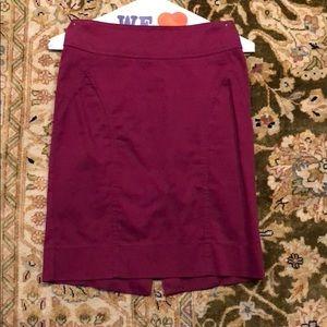 H&M pencil skirt size 2